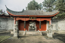 Entrance Of Chinese Garden