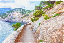 Crimea.Trail Golitsyn. Mount K...