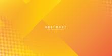 Abstract Orange Gradient Geome...