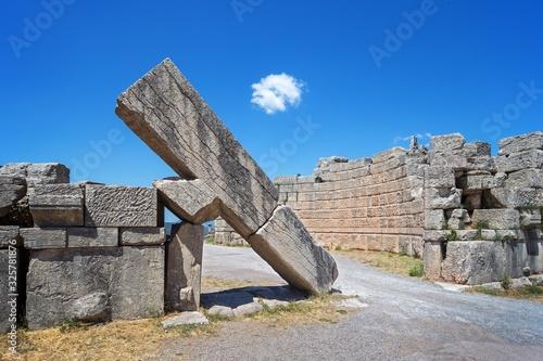 Ancient Messene city Arcadia Gates ruins, Peloponnese, Greece Wallpaper Mural