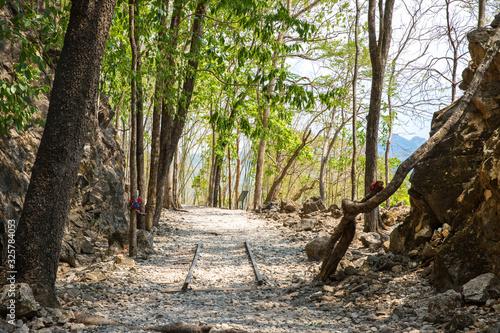 Fotografie, Tablou A Hellfire pass, Kanchanaburi, Thailand.