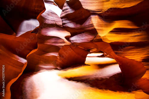 Antelope slot canyon near page Arizona Canvas Print