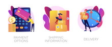 Online Shopping Web Banners Se...