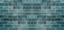 Blue Ceramic Tile Background. ...