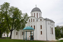 View Of Cathedral Of St. Boris And St. Gleb In Chernihiv, Ukraine