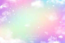Unicorn Sky Colorful Gradient 11