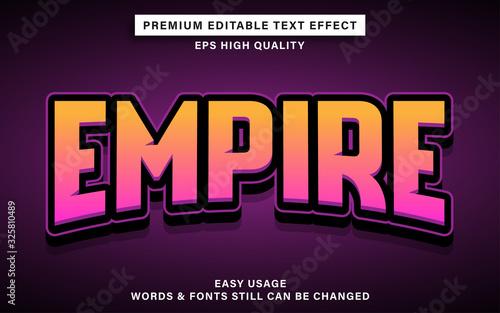 Fotografía esports text effect