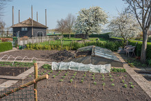 Kitchen Garden, Petting Zoo And A Hay Loft Converted Into A Home Situated Between Huge Greenhouses