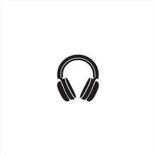 Vector Headphones Icon.