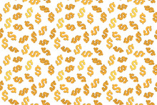 Seamless Pattern From 3d Dolla...