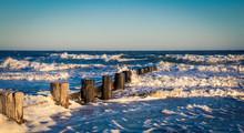 Abandon Pier In Folly Beach