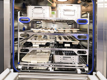 Surgical Instruments On Machine