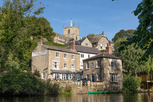 Knaresborough England Riversid...