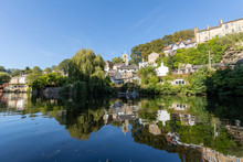 Knaresborough England Riverside Reflections
