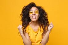 Joyful Young African American ...