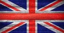 Great Britain Flag Wooden Plan...