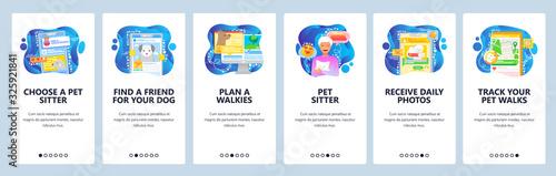 Fotomural Find pet sitter app