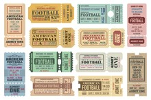 American Football Game Tickets...