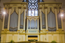 Big Old Beautiful Organ In Chu...