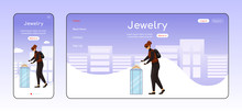 Jewelry Theft Adaptive Landing...