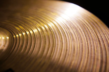 Vintage Hi-hat Closeup, For Music, Entertainment Themes