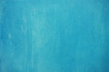 Grunge Concrete Wall  Blue Col...
