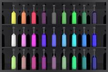 Serie Bottigliette Colorate Co...