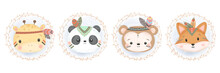 Cute Animal Illustration, Anim...
