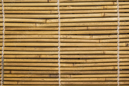 texture de bambou en gros plan