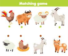 Matching Game. Educational Chi...