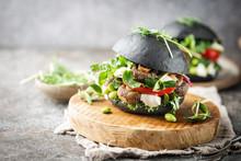 Veggie Mushroom, Green Salad A...