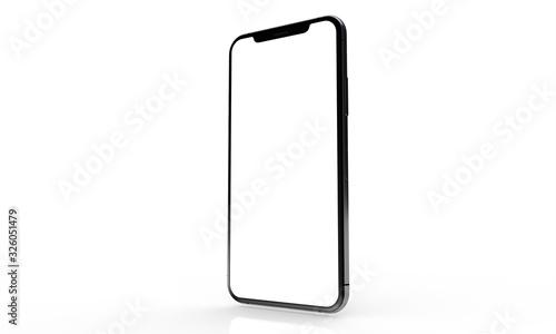 Obraz smartphone digital isolated 3d background - fototapety do salonu