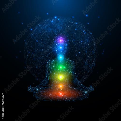 Obraz na plátně Yoga space concept