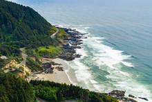 Cape Perpetua Scenic Area Aeri...