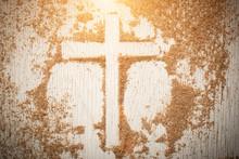 Ash Wednesday Cross, Crucifix ...