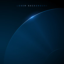 Abstract Blue Round Lines Background