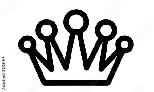 Fotografiet Casino Icons vector design black and white