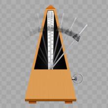 Classic Metronome With Pendulu...