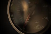 Car Oil Pressure Gauge