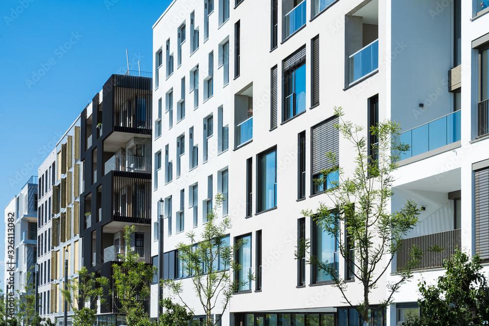 Fototapeta Moderne Architektur in Heilbronn