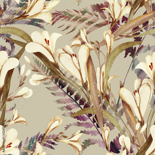 wzor-z-kwiatami-crocosmia