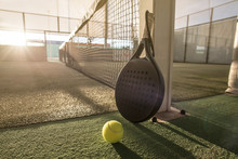 Paddle Tennis Racket And Ball ...