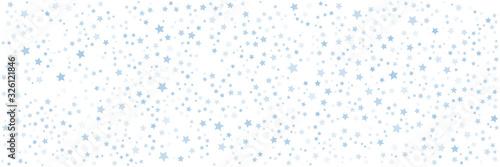 Obraz Blur star pattern wide banner background - fototapety do salonu