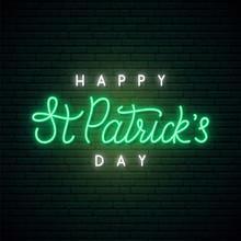 Saint Patrick's Day Neon Sig...