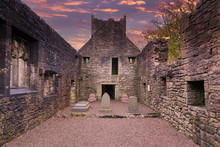 Inside The Old  Semple Ruins A...
