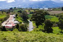 Road To The Irazú Volcano, In...