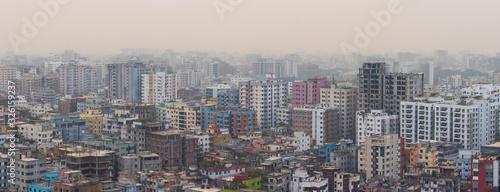Photo Dhaka City Landscape Taken from 19th Floor