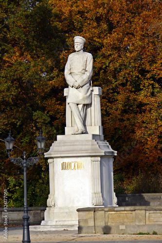 Photo Helmuth Graf von Moltke-Denkmal am Grossen Stern