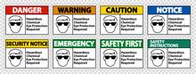 Hazardous Chemical Eye Protect...