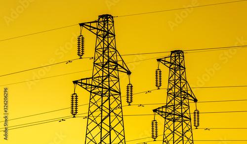 Fotografia lectric power industry